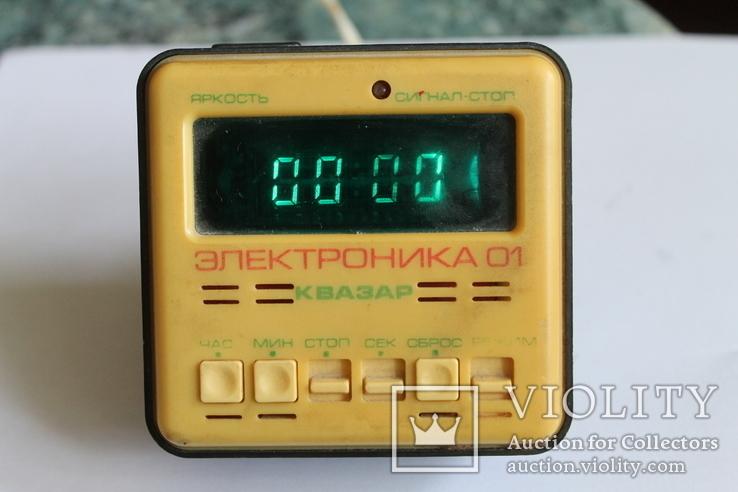 Часы Электроника 01 Квазар из СССР, фото №4