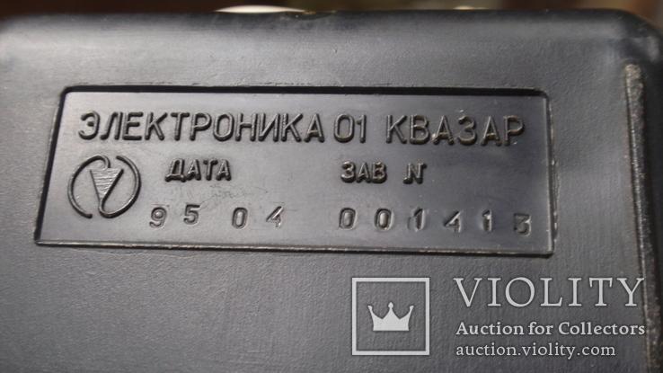 Часы Электроника 01 Квазар из СССР, фото №8