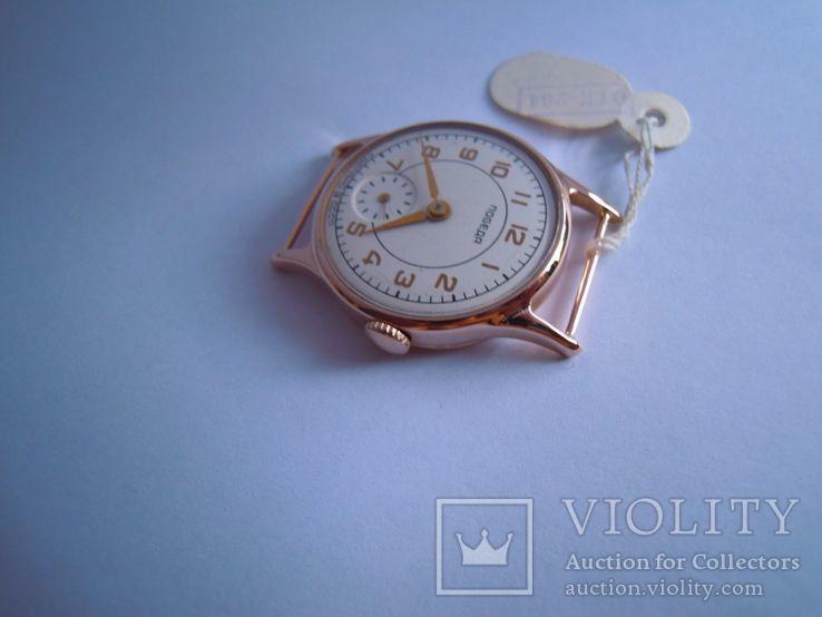 Золотые часы Победа 583, фото №4