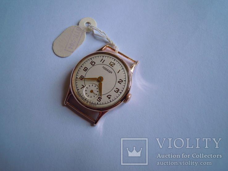 Золотые часы Победа 583, фото №5