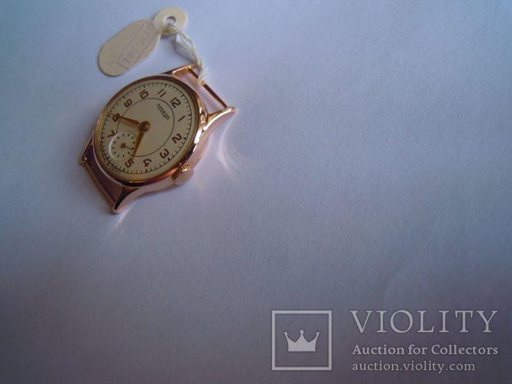Золотые часы Победа 583, фото №6
