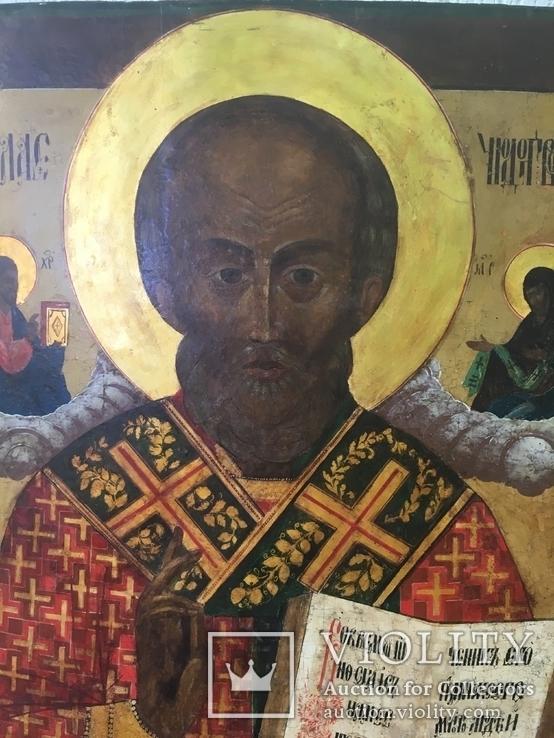 Икона Св.Николай Чудотворец, фото №3