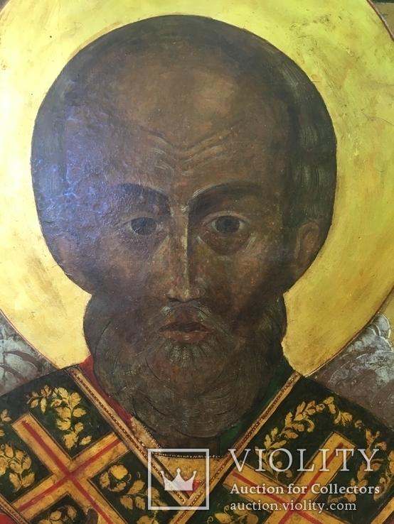 Икона Св.Николай Чудотворец, фото №4