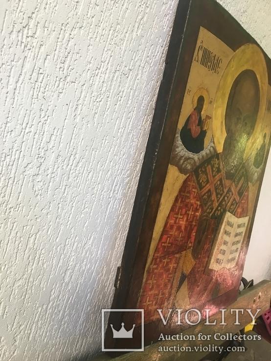 Икона Св.Николай Чудотворец, фото №12