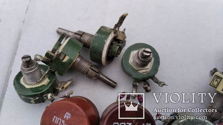 Резисторы ПП3 ; ПП2 и др., фото №5