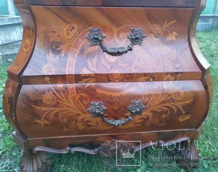 Дві приліжкові тумбочки у голадському стилі, фото №8