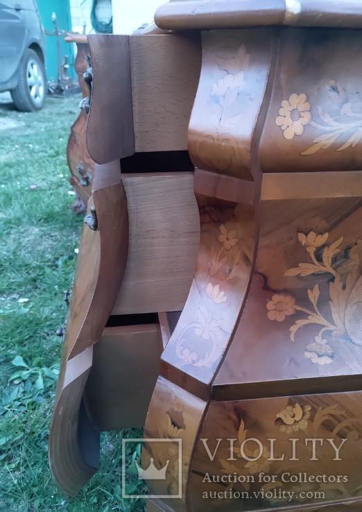 Дві приліжкові тумбочки у голадському стилі, фото №10