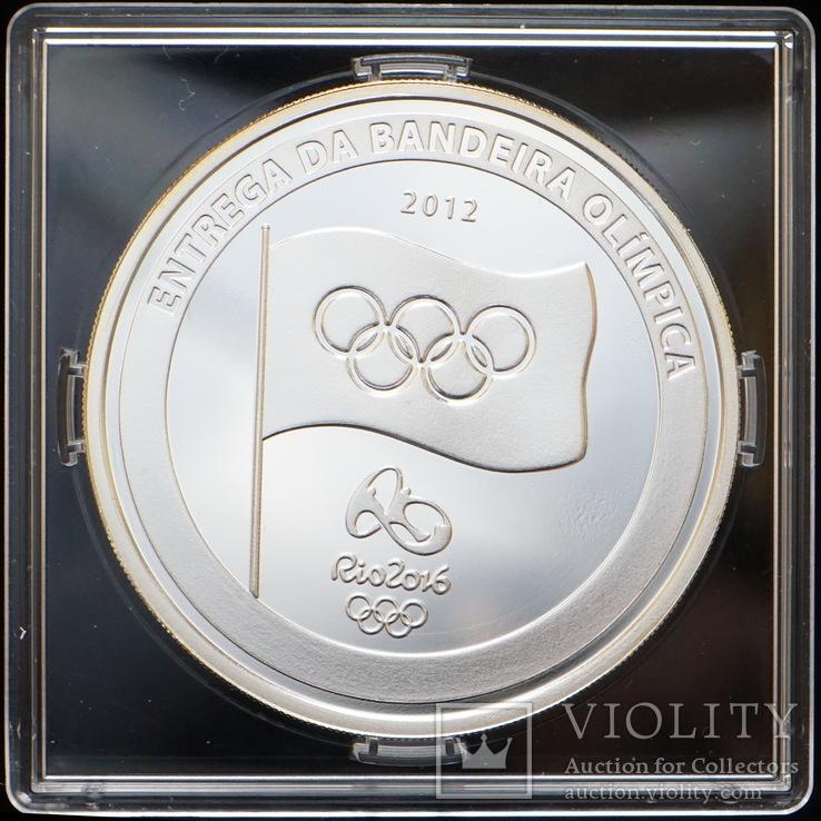 5 Реал 2012 Олимпиада из Лондона в Рио-де-Жанейро 2012, Бразилия, фото №2