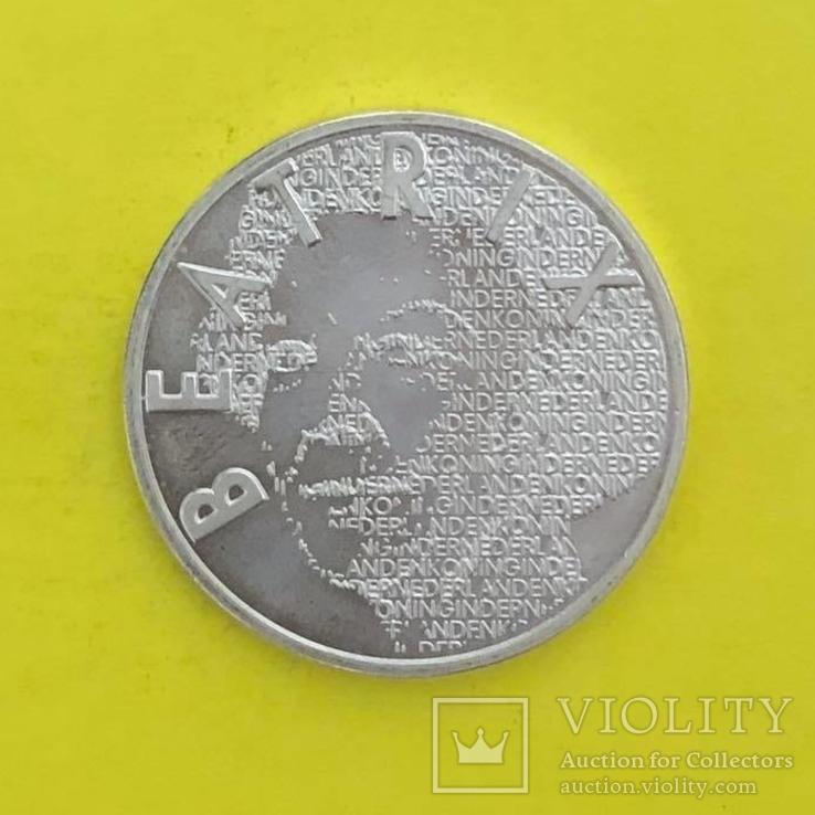 Нідерланди 5 євро, 2003 150-та річниця - Народження Вінсента ван Гога, фото №3