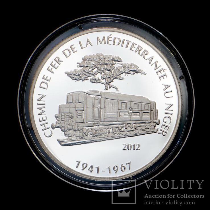 1000 Франков 2012 Поезд, Нигер, фото №2