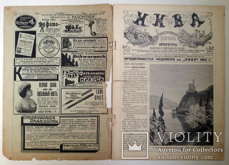 Журнал Нива № 24 1914 г, фото №3