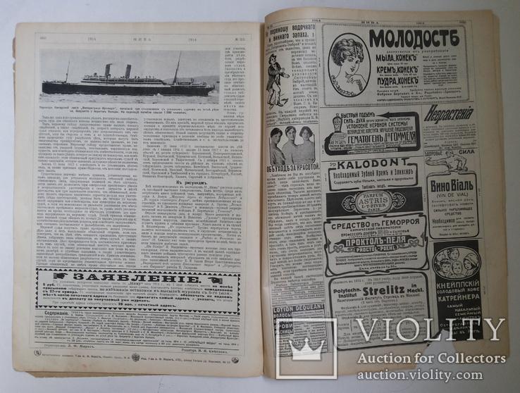 Журнал Нива №23 1914 г, фото №12