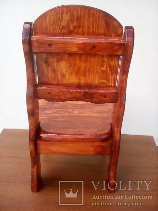 Авторский детский стульчик, фото №6