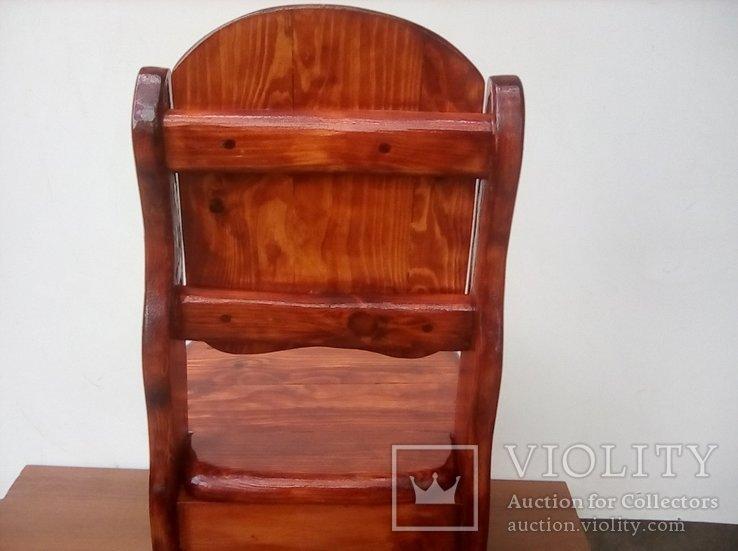 Авторский детский стульчик, фото №9