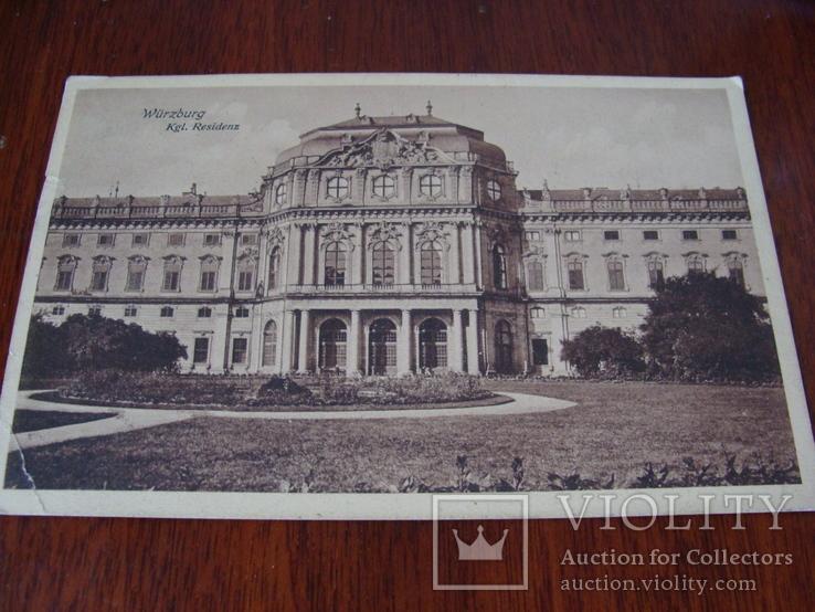 Открытка из Германии в Одессу, 1910 год, фото №2