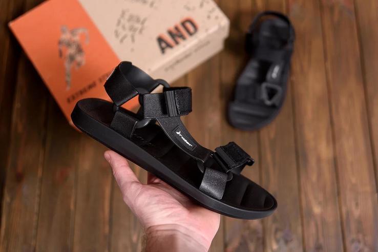 Мужские кожаные сандалии Rd 20780 ч