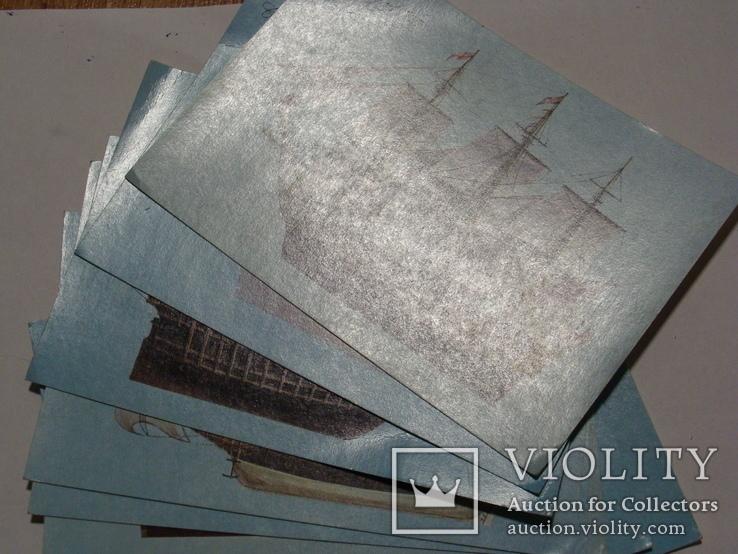 Листівки з кораблями експедиції Колумба, фото №2