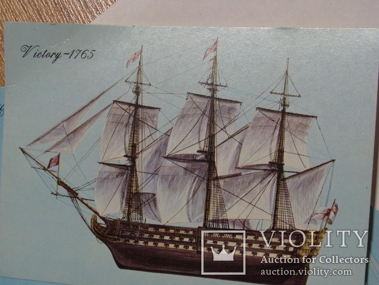 Листівки з кораблями експедиції Колумба, фото №3