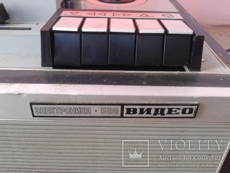 Видеомагнитофон 1979г., фото №4
