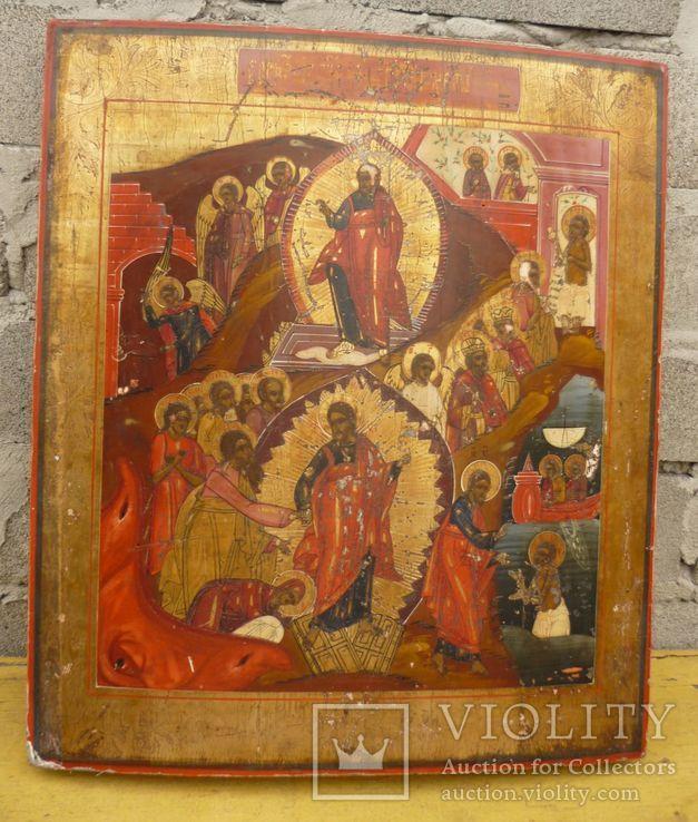Икона ''Воскресение Христово''19в., фото №2