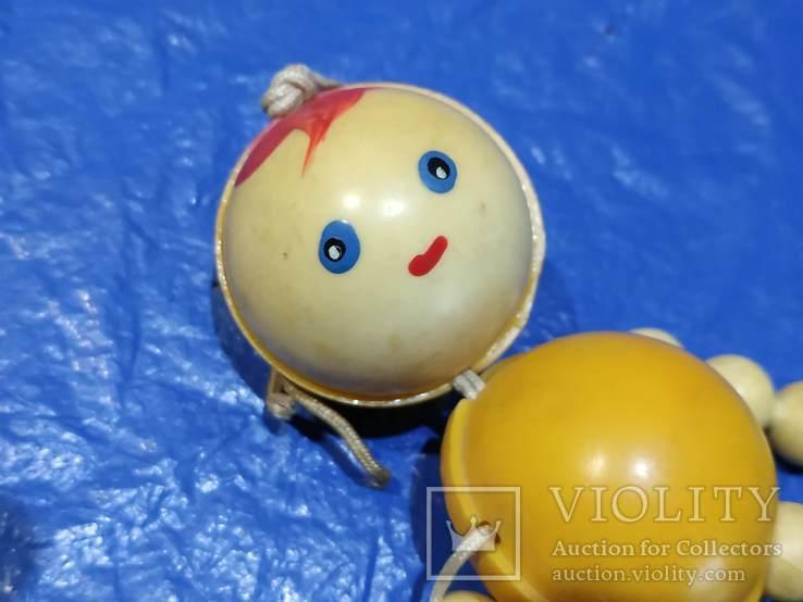 Игрушка на резинках СССР, фото №5