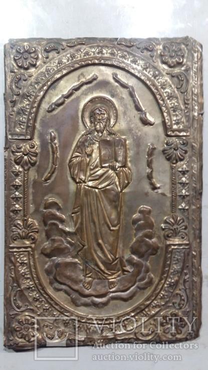 Ікона на металі Кінець 19ст, фото №2