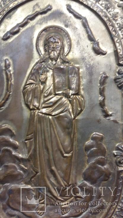 Ікона на металі Кінець 19ст, фото №5