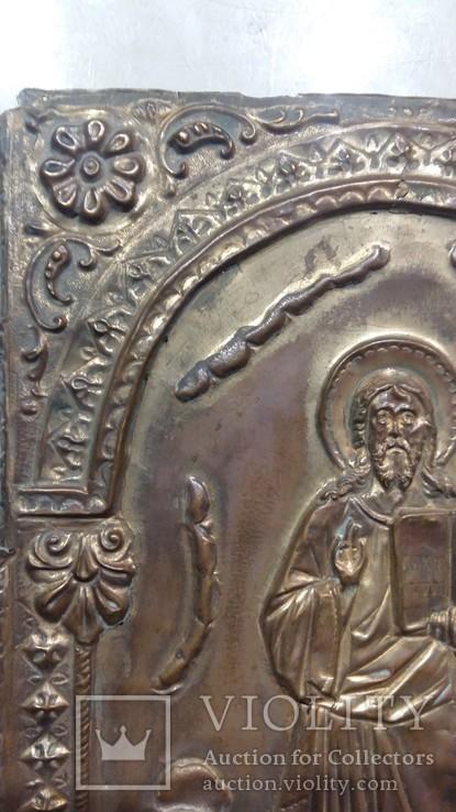 Ікона на металі Кінець 19ст, фото №6