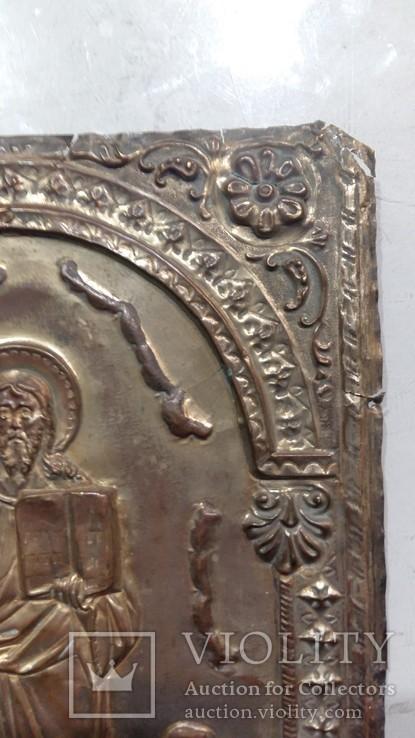 Ікона на металі Кінець 19ст, фото №7