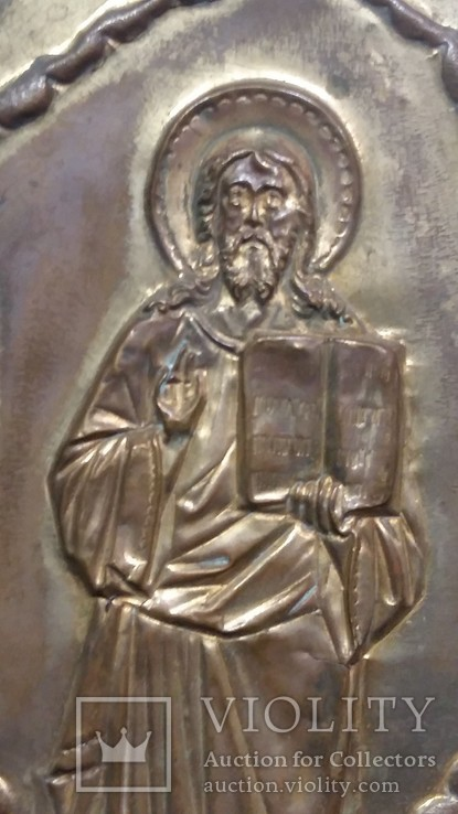 Ікона на металі Кінець 19ст, фото №11