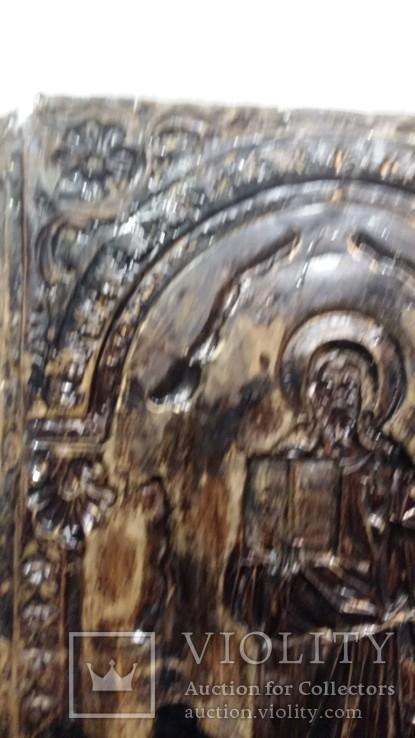 Ікона на металі Кінець 19ст, фото №13