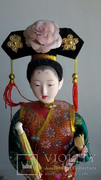 Кукла Китай, ручная работа, фарфоровое лицо, фото №3