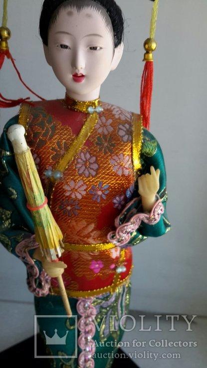 Кукла Китай, ручная работа, фарфоровое лицо, фото №6