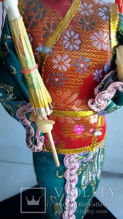 Кукла Китай, ручная работа, фарфоровое лицо, фото №8