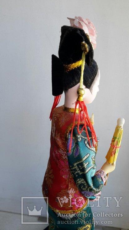 Кукла Китай, ручная работа, фарфоровое лицо, фото №12