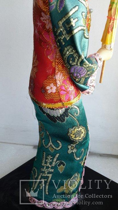 Кукла Китай, ручная работа, фарфоровое лицо, фото №13