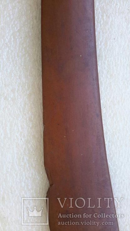 Старинный нож для писем (дерево,серебро), фото №6