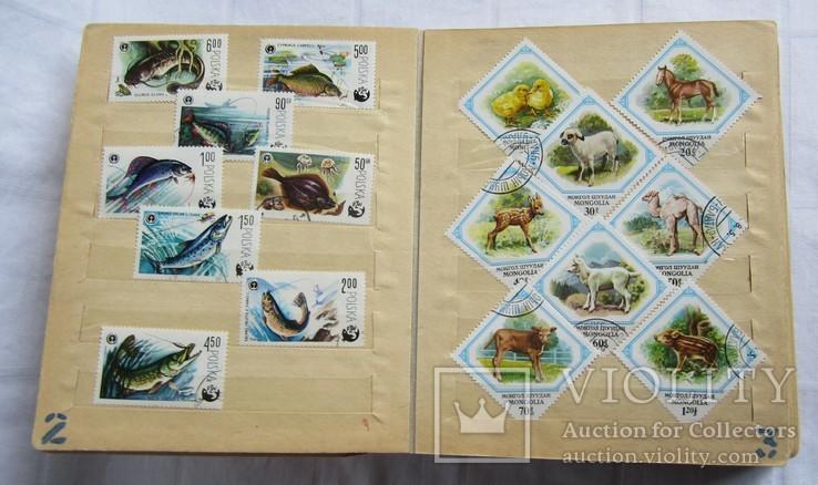 Почтовые марки флора фауна, фото №4