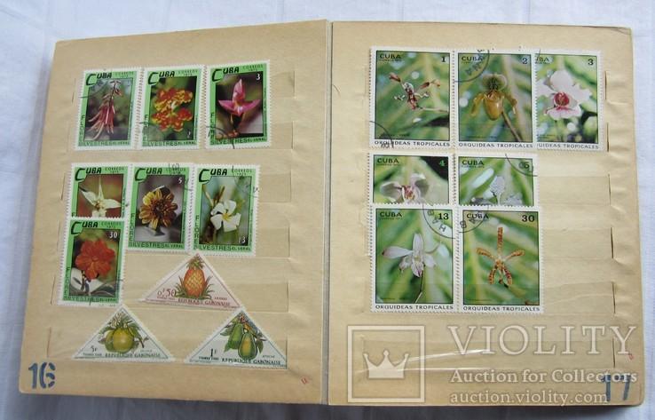 Почтовые марки флора фауна, фото №11