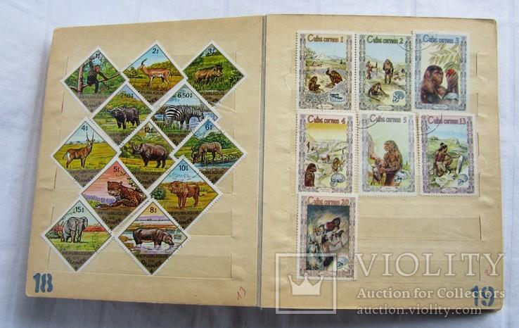 Почтовые марки флора фауна, фото №12