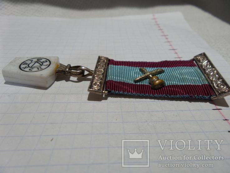 Масонская медаль знак масон 1306, фото №3