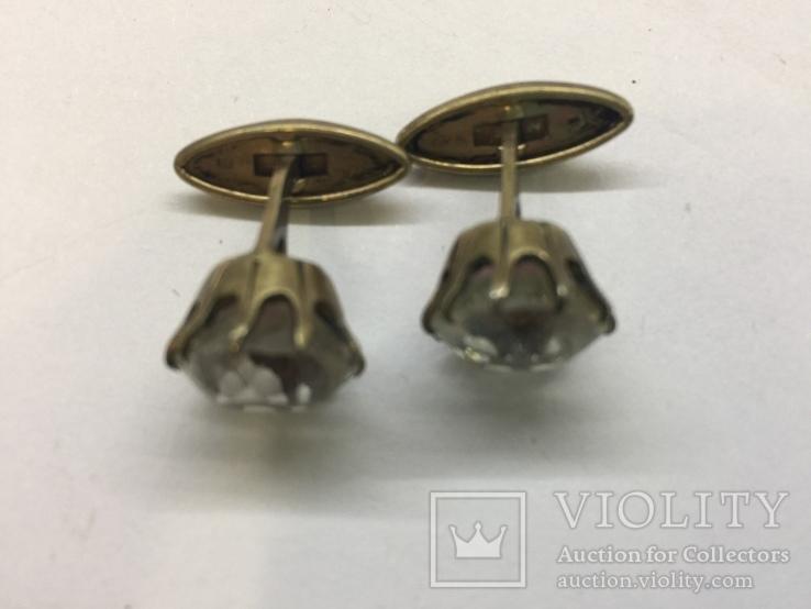 Запонки соребро 875, фото №3