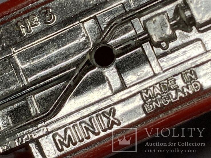 """Minix No.3 Vauxhall Viva in Red - USED - 1/76th """"OO"""" Scale., фото №10"""