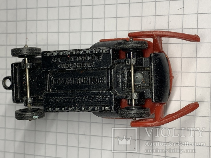 Corgi AMF SKI-DADDLER Made in Gt Britain, фото №6