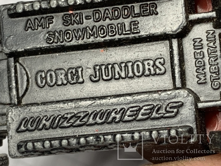 Corgi AMF SKI-DADDLER Made in Gt Britain, фото №7