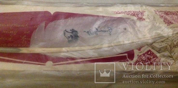 Ручка перо в упаковке, фото №3