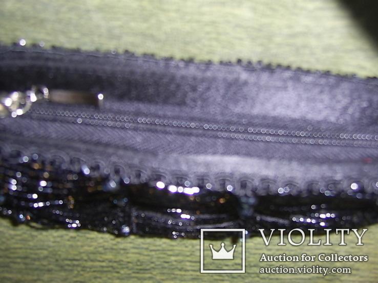 Сумочка расшитая стеклярусом, фото №5