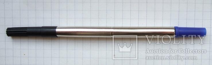 """Стержень капиллярный """"Parker"""" для ручки - роллера. Новый. Свежий. Синий. Неоригинал., фото №2"""