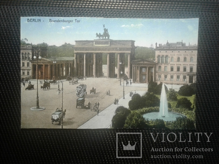 Открытка Берлин, фото №2