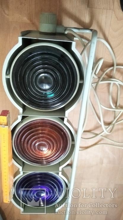 Светомузыка светильник светофор, фото №3